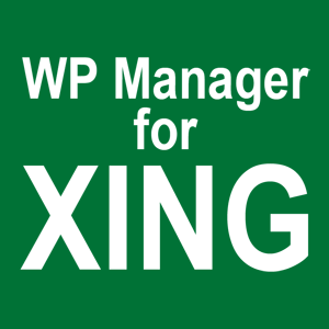 WP Manager for XING